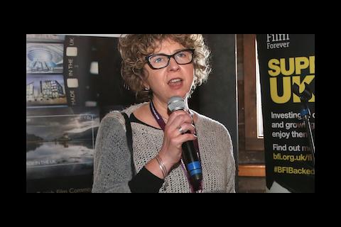 Lizzie Francke at We Are UK Film reception, Sundance 2016